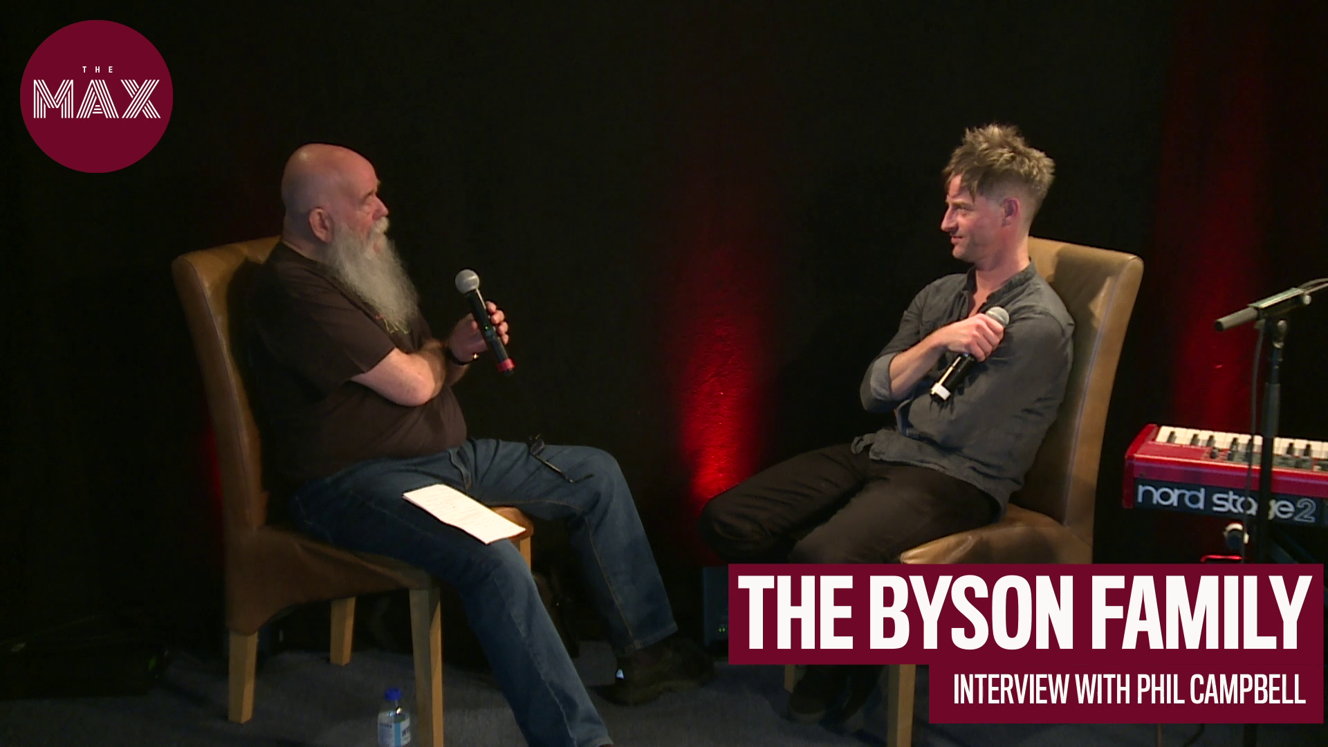 Live at The Max: Tom Russell interviews Phil Campbell - The Byson Family