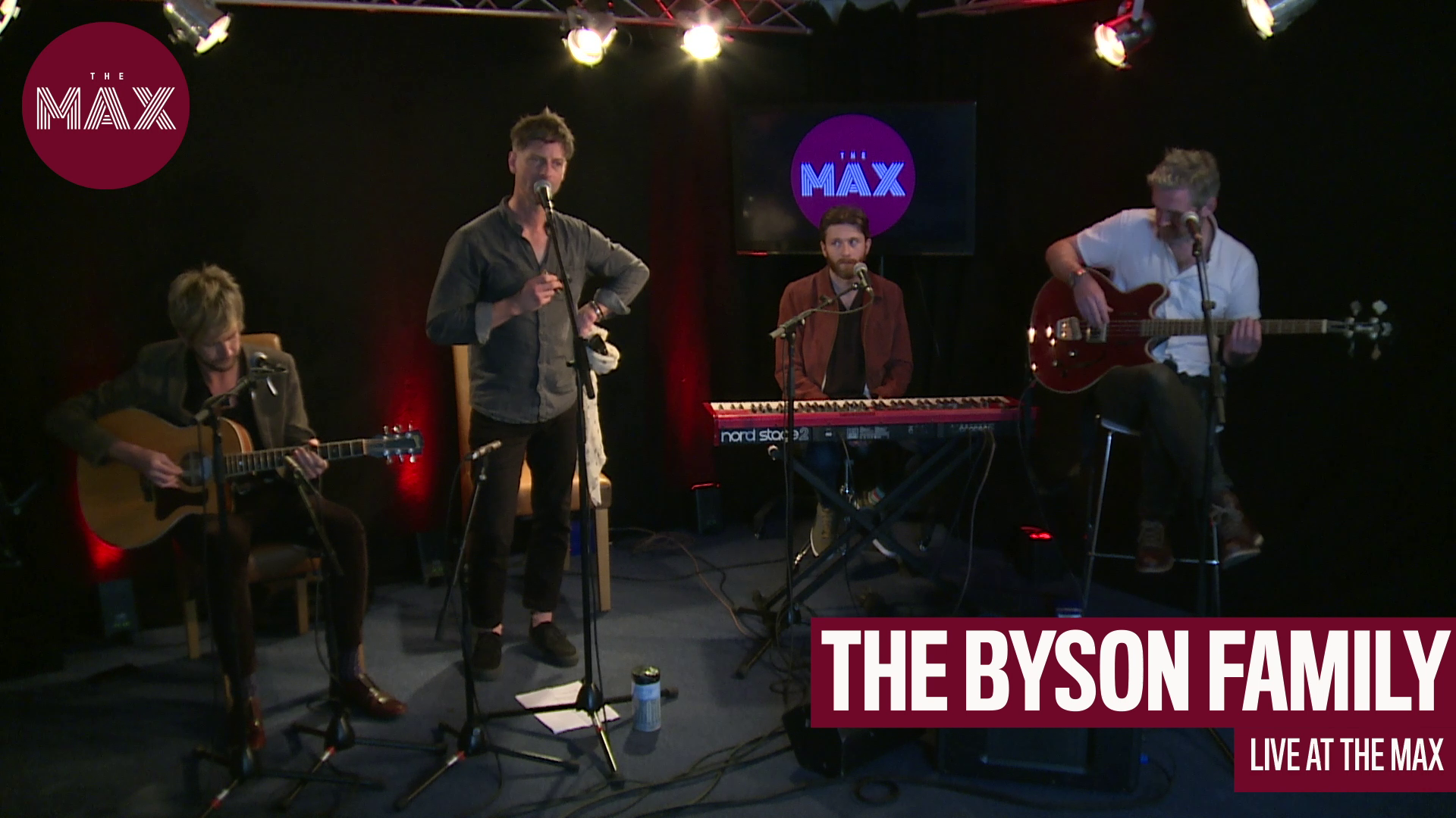 Live at The Max: The Byson Family - Angel of the Reckless