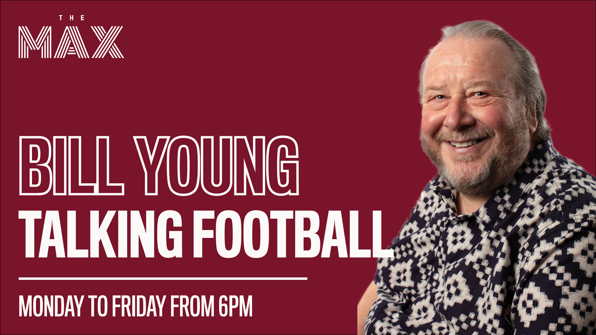 Talking Football Podcast w/Bill Young - Episode 1