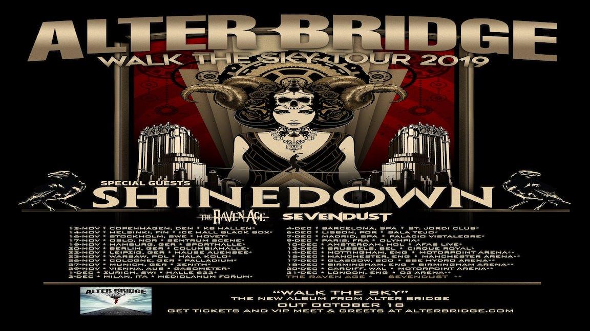 Alter-Bridge-Tour-2019 poster