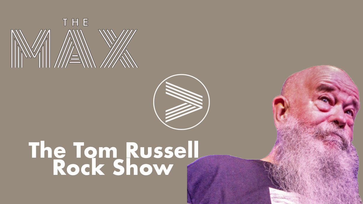 The Tom Russell Rock Show Dark Grey