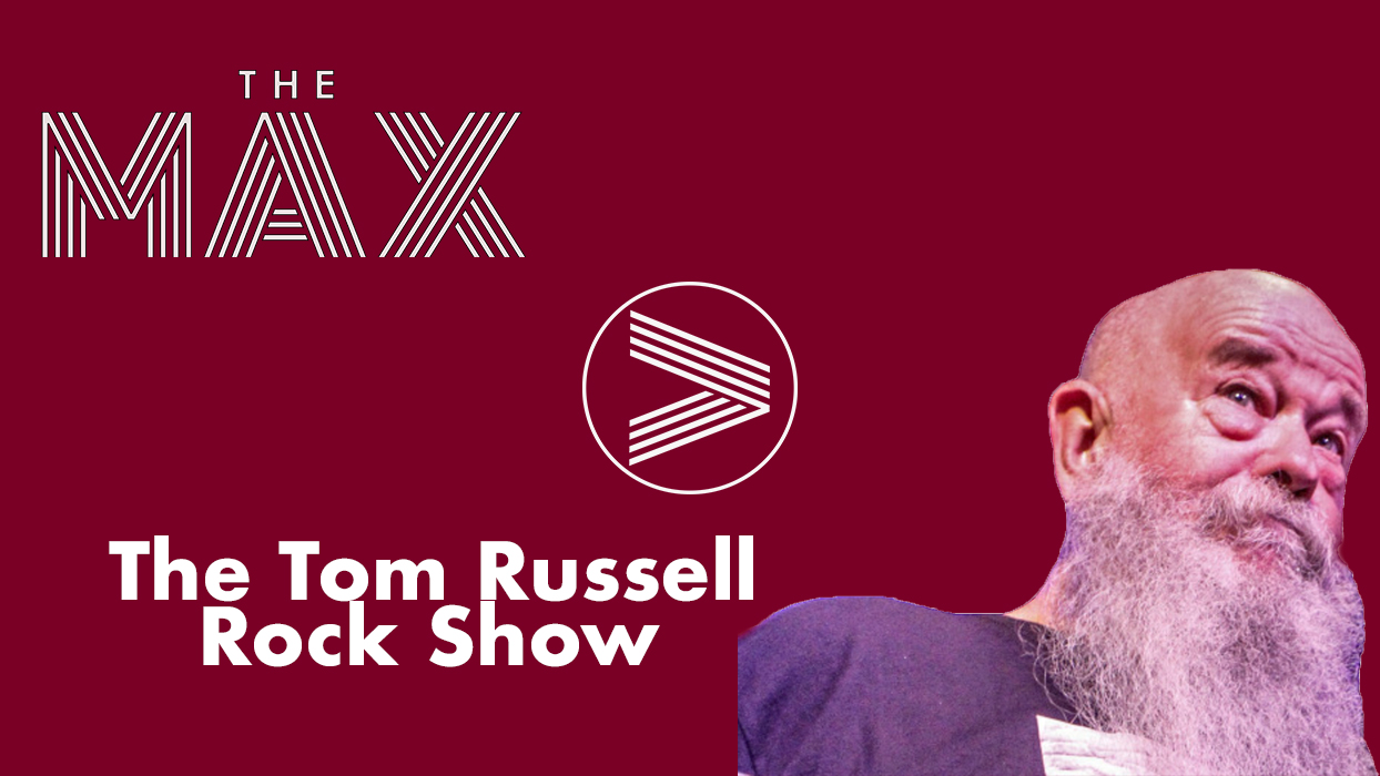 The Tom Russell Rock Show Burgundy